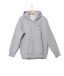Levis Levis Zip Hooded Original grey heather