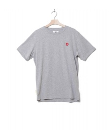Wood Wood Wood Wood T-Shirt Ace grey melange