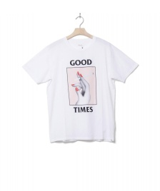 Wood Wood Wood Wood T-Shirt Good Times white bright