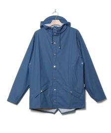 Rains Rains Rainjacket Short blue faded