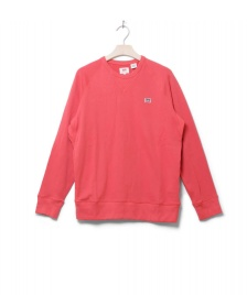 Levis Levis Sweater Original Crew red sunset