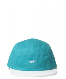 Obey Obey 5 Panel Contrast Jumble green teal