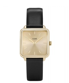 Cluse Cluse Watch La Tetragone black/gold gold