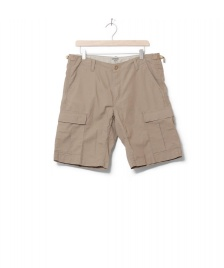 Carhartt WIP Carhartt WIP Shorts Aviation Columbia Ripstop beige leather rinsed
