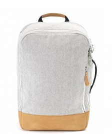 Qwstion Qwstion Backpack raw blend natural leather