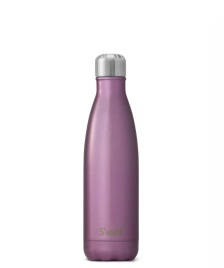 Swell Swell Water Bottle MD pink glitter orchid