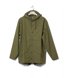 Rains Rains Rainjacket Short green sage