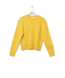 Wood Wood Wood Wood W Knit Pullover Anneli yellow mustard