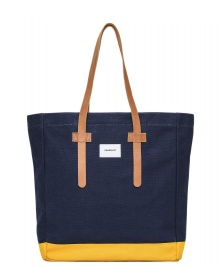 Sandqvist Sandqvist Bag Stig Tote blue multi/yellow