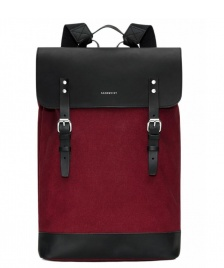 Sandqvist Sandqvist Backpack Hege red burgundy