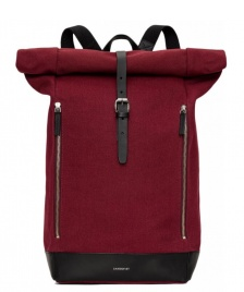 Sandqvist Sandqvist Backpack Marius red burgundy