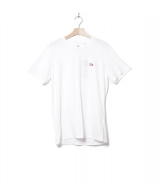 Levis Levis T-Shirt Original Hm white cotton patch