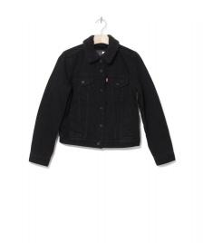 Levis Levis W Sherpa Jacket Trucker black forever