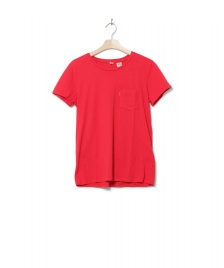 Levis Levis W T-Shirt Perfect Crew red chinese