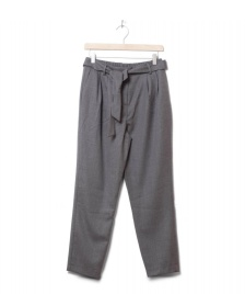 Selected Femme Selected Femme Pants Slfbio Cropped Wool grey medium melange