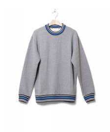 Wood Wood Wood Wood Sweater Nathan grey melang