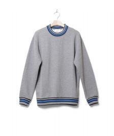Wood Wood Wood Wood Sweater Nathan grey melang