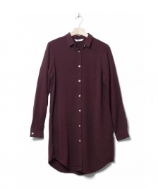 Wemoto Wemoto W Shirt Cinder red burgundy