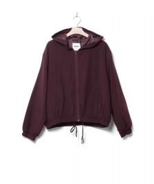 Wemoto Wemoto W Jacket Silvam red burgundy