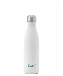 Swell Swell Water Bottle MD white stone moonstone