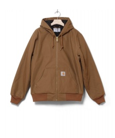 Carhartt WIP Carhartt WIP Winterjacket Active brown hamilton