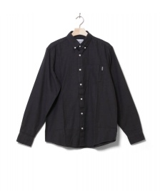 Carhartt WIP Carhartt WIP Shirt Dalton grey blacksmith heavy rinsed
