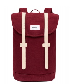 Sandqvist Sandqvist Backpack Stig red burgundy