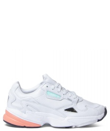 adidas Originals Adidas W Shoes Falcon white crystal/crystal white/easy orange