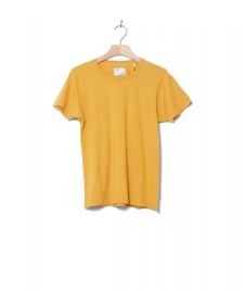 Colorful Standard Colorful Standard W T-Shirt CS 2051 yellow burned
