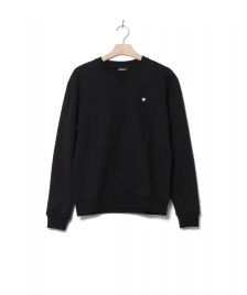 Wood Wood Wood Wood Sweater Tye black