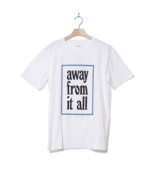 Wood Wood Wood Wood T-Shirt Away white bright