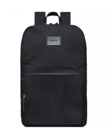 Sandqvist Sandqvist Backpack Kim Grand black/black leather