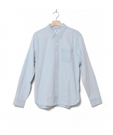 Levis Levis Shirt Sunset 1 Pocket blue super white light