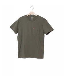 Levis Levis T-Shirt Sunset Pocket green olive night