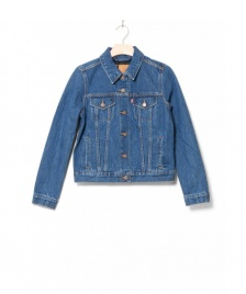 Levis Levis W Denimjacket Lined Trucker blue inside joke