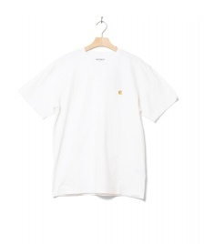 Carhartt WIP Carhartt WIP T-Shirt Chase white combed/gold