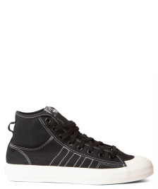 adidas Originals Adidas Shoes Nizza HI RF black core/footwear white/off white
