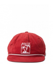 Brixton Brixton 6 Panel Stranded red burgundy