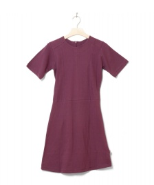 Wemoto Wemoto W Dress Erica red burgundy