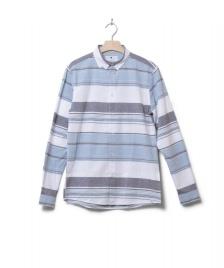 Revolution (RVLT) Revolution Shirt Striped 3714 blue