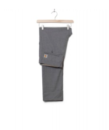 Carhartt WIP Carhartt WIP Pants Johnson Diamond grey light heather rigid
