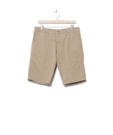 Carhartt WIP Carhartt WIP Shorts Sid Lamar beige leather rinsed