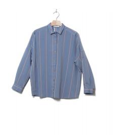 Sessun Sessun W Shirt Belvedere blue japanese