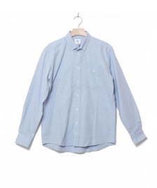 Klitmoller Collective Klitmoller Shirt Benjamin blue melange