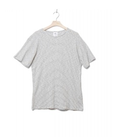 Klitmoller Collective Klitmoller T-Shirt Alfred No pocket beige cream/navy
