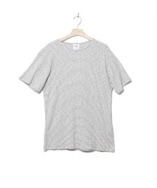 Klitmoller Collective Klitmoller T-Shirt Alfred No pocket beige cream/navy