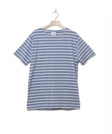Klitmoller Collective Klitmoller T-Shirt Albert No pocket blue heaven/cream