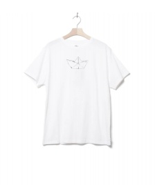 Klitmoller Collective Klitmoller T-Shirt Birk The Boat white