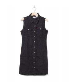 Levis Levis W Dress SL Short Aubrey black shiny happy people x