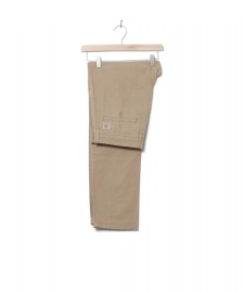 Carhartt WIP Carhartt WIP Pants Johnson Midvale beige leather